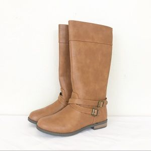 NWT Cat & Jack Luz Brown Riding Boots 4